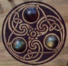 triskel - a celtic symbol of positive spiraling - evolution of mind and boy - eternal learning -