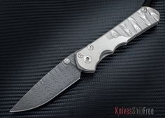 Chris Reeve Knives: Large Sebenza 25 - Ladder Damascus
