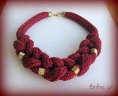 K05a-W14 Necklaces, Bracelets, Crochet Necklace, Winter, Jewelry, Winter Time, Jewlery, Jewerly, Schmuck