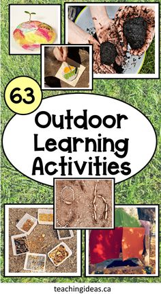 Kids love to be outside!  Taking their learning outside is easy with these 63 outdoor education activities perfect for home or school! This collection of outdoor learning activities include various subject areas and hands-on activities. #outdooreducationactivitiespreschool #outdooreducation #outdooreducationactivities#outdoorlearningactivitiesforkids #outdoorlearning Summer Fun For Kids, Summer Activities For Kids, Holiday Activities, Hands On Activities, Science Activities, Free Activities, Kinesthetic Learning, Kids Learning, Learning Games