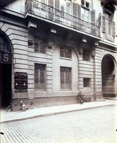 Balcon - Hôtel du président Rosambo 64 Rue Taylor (10e) par Eugène Atget 1909