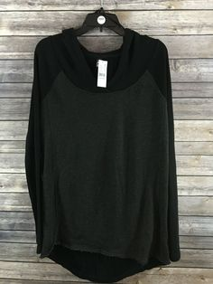 Fox Racing Women's Gray & Black Long Sleeve Hooded Sweater Size XL NWT #FoxRacing #Hooded