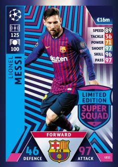 Topps Match Attax 2018//19 100 club Kevin de Bruyne