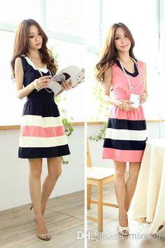 Wholesale Casual Dresses - Buy WOMEN CUTE DRESS ELEGANT CHIFFON DRESS W3333, $10.94 | DHgate