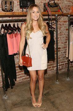 lauren conrad // simple white dress perfect for summer