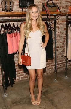 lauren conrad // simple white dress perfect for summer