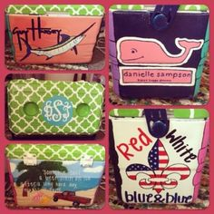 just a regular cooler made to be the best. what a great christmas/babyshower/housewarming idea!!!
