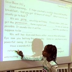 ASSESSMENT: This activity can be used as a formative assessment for teachers to assess students' ability to apply various writing conventions. The teacher writes a morning message with mistakes or omissions. The students' task is to identify and correct these mistakes or fill in the blanks. Teachers can assess by selecting students to come up and noticing if they are able to correctly apply the appropriate writing conventions and which ones.