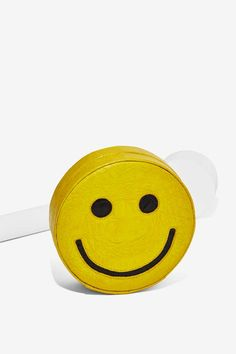 Gelareh Mizrahi Smile For Me Embossed Leather Crossbody Bag | Shop Accessories at Nasty Gal!