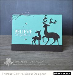 """We're back again with a Fun Friday feature AND a very fabulous friend! Welcome, Therese Calvird! Your """"appearance"""" on the blog today comes with a fantastic clean and simple creation! Therese has do..."""