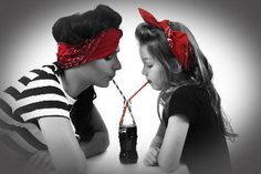 Pin Up Photography Mother and Daughter Shoot Make Up by Charlotte Saunders 50's theme #pinup #cocacola #50's
