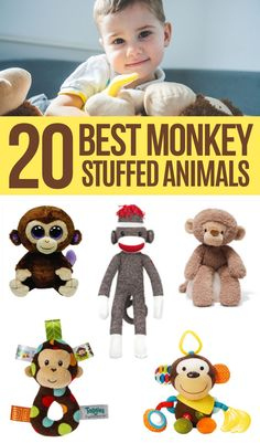 Are you on the hunt for the best stuffed animal monkey for your baby or toddler?If so, you're in the right place. We've delved deep into the research and created an extensive guide that contains the absolute best monkey stuffed animals for toddlers and little kids.Regardless of how old your child is, you can be sure to find something for them in the guide below. So, have a quick read to pick out the best stuffed monkey toys that suits your child best! Child Love, Your Child, Curious George Stuffed Animal, Baby Aspen, Monkey Doll, Visual Learning, Beanie Boos, Pigtail, Face Design