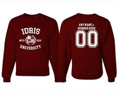 IDRIS Universität Shadowhunters Mortal Instruments-Sweatshirt