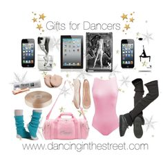 Gifts for Dancers, hundreds of birthday & christmas gift ideas at www.dancinginthestreet.com