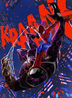 All Spiderman, Comics Spiderman, Venom Comics, Marvel Comics Art, Amazing Spiderman, Marvel Heroes, Marvel Characters, Ms Marvel, Captain Marvel