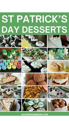 St Patricks Day, Fun Desserts, Dessert Recipes, Luck Of The Irish, Dessert Bars, Creative Food, Yummy Treats, Cookie Recipes, Appetizers