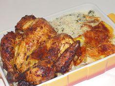 Creative Home Cooking With Ibty: Spicy Yogurt Roast Chicken (Kuku wa Mtindi Mzima y...