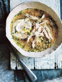 Herby Lemon And Quinoa Chicken Soup | Donna Hay
