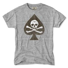 Cross Bones T-Shirt by Tailgate. You've got style in spades and live a little on the edge. That's exactly why we've created the Cross Bones T-Shirt. Made for the kind of guy that lets it all hang out and isn't afraid to show it.