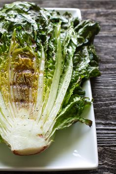 Grilled Romaine Salad >> edible perspective