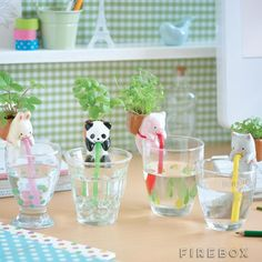 Chuppon Self Watering Animal Planter from Firebox.com