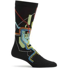 DC Metro Subway Mens Map Sock in Black size 10-13 from ozone socks ff45fdac6463