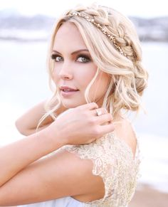 Stunning bridal make-up and hair