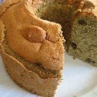 Green Tea Scented! Fluffy Japanese Tea Chiffon Cake