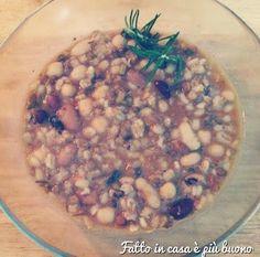 """La Zuppa di legumi e cereali al curry e paprica di """"Fatto in casa è più buono""""!"""