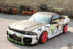 Nissan Silvia S13 R33 Front