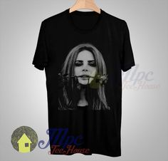 Lana Del Rey Rose Face T Shirt