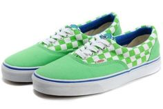 ee8f722566 2013 Free Style Vans ERA Haro Checkerboard Authentic Skateboard Green  Casual Canvas Sneakers s · Vans Shoes For SaleShoe ...