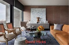 David Hicks is an international interior designer. His Office is based in Australia but has expanded to Los Angeles, USA. David Hicks implements interior designs in private houses, residential developments, hotels, restaurants, retail stores and corporate offices.
