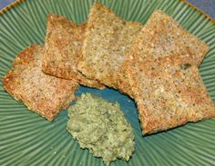 Veggie Seed Crackers Recipe