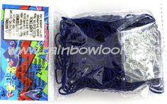Navy Blue (Opaque) | Rainbow loom