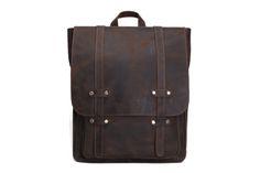Handmade Antique Leather Backpack/ School Backpack/Travel Backpack 8645
