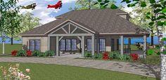 Coastal Southern House Plan 59391 Elevation