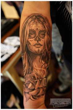 Mexican Day of the Dead Tattoos - Tattoos and Tattoo Pictures