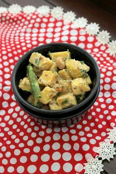 Suran ki sabji recipe for fasting, vrat - elephant foot yam is cooked with peanuts and yogurt. It is lightly spiced with green chilies only.