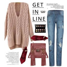 Yoins 26/4 by merima-kopic on Polyvore featuring Valentino, Lipsy, women's clothing, women's fashion, women, female, woman, misses, juniors and yoins