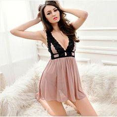 Plus size S-XL40-70kg women nightgown sleepwear women women nightwear sleepshirts intimates lingerie nightshirt sexy babydoll