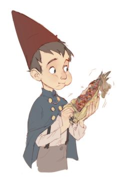 "Wirt of ""Over the Garden Wall"". If you haven't been watching this show YOU NEED TO NOW! This has been a PSA."