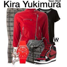 Inspired by Arden Cho as Kira Yukimura on Teen Wolf.
