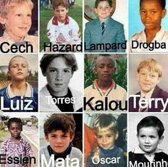 Squad as kids.