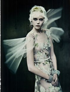 The Haute Couture | Paolo Roversi #photography | Vogue Italia September 2011