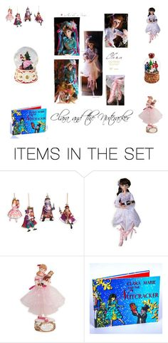 """""""Clara and the Nutcracker"""" by woodensoldier on Polyvore featuring art"""