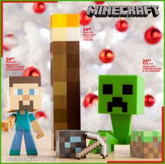 Get in the game with Minecraft toys!