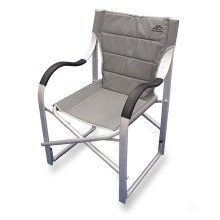 Natural Gear Ergo Arm Chair With Mesh Back And Carry Bag