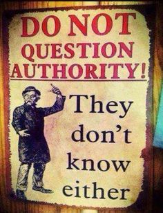 They don't know!!