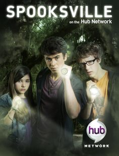 Spooksville - This just makes me happy :D I really like spooksvile, an adaptation of the Christopher Pike Series. Sally's Sarcasm, Watch's smarts and Adam's bravery :) A deadly trio
